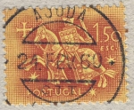 Stamps Portugal -  Caballero