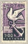 Stamps Portugal -  decimo año OTAN