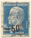 Sellos de Europa - Francia -  Pasteur