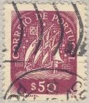 Stamps Portugal -  velero