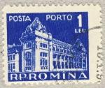Sellos de Europa - Rumania -  Edificio