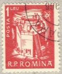 Stamps Romania -  energia atomica