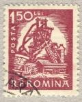 Sellos de Europa - Rumania -  industria