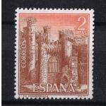 """Stamps : Europe : Spain :  Edifil  1812  Castillos de España """" Ponferrada - León """""""