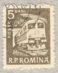 Sellos de Europa - Rumania -  transporte ferroviario