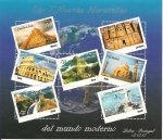 Stamps of the world : Peru :  Las 7 Nuevas Maravillas del Mundo Moderno