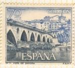 Sellos de Europa - España -  Vista de Zamora