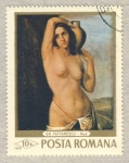 Stamps Europe - Romania -  Gh. Tattarescu  -  Desnudo