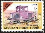 Stamps : Asia : Afghanistan :  locomotora