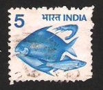 Stamps India -  593 - peces