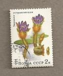 Sellos de Europa - Rusia -  Plantas acuáticas, Euriola