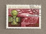 Stamps Russia -  Televisión desde el espacio Venera 9