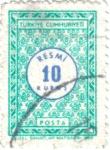 Stamps Turkey -  Posta de Turquia