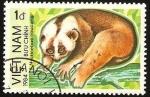 Stamps Vietnam -  lori perezoso