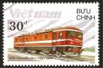 Stamps Vietnam -  tren