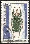Stamps Africa - Mali -  escarabajo