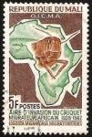 Stamps Africa - Mali -  lucha contra la langosta migratoria