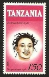 Stamps Africa - Tanzania -  peinados