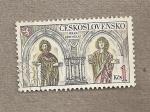 Sellos de Europa - Checoslovaquia -  Castillo de Krivoklat