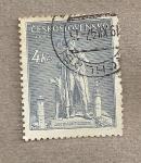 Stamps Czechoslovakia -  250 Aniv. de la muerte del lider campesino Kozina
