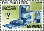 Stamps Spain -  ESPAÑA 1980 2566 Sello * España Exporta Herramientas c/señal charnela Yvert2212 Scott2206