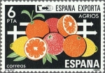 Stamps Spain -  ESPAÑA 1981 2626 Sello Nuevo España Exporta Agrios c/señal charnela Yvert2254 Scott2247