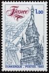 Stamps France -  FRANCIA - Campanarios de Bélgica y Francia
