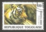 Stamps Africa - Togo -  pantera tigre