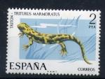 Sellos de Europa - España -  Tritón