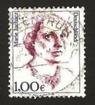 Stamps Germany -  marie juchacz