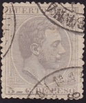 Stamps America - Puero Rico -  Alfonso XII