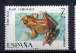 Stamps Spain -  rana roja