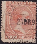 Stamps Puero Rico -  Alfonso XIII
