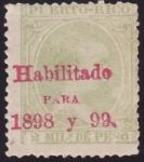Sellos del Mundo : America : Puerto_Rico : Alfonso XIII