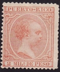Stamps Puerto Rico -  Alfonso XIII