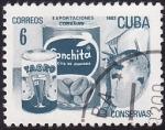 Stamps Cuba -  Exportaciones cubanas CONSERVAS