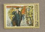Sellos de Europa - Rusia -  107 Aniv del nacimiento de Lenin
