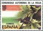 Stamps Spain -  ESPAÑA 1983 2689 Sello ** Estatuto de Autonomia La Rioja Yvert2326 Scott2317