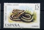 Stamps Spain -  vivora de lataste