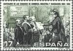 Sellos del Mundo : Europa : España :  ESPAÑA 1986 2845 Sello Nuevo Camara de Comercio e Industria Jura de la Reina Mª Cristina de Jover