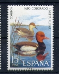 Stamps Europe - Spain -  pato colorado
