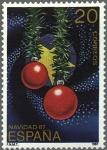 Sellos de Europa - España -  ESPAÑA 1987 2925 Sello Nuevo Navidad con los colores de España y Europa c/señal charnela Yvert2540 S