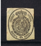Stamps Europe - Spain -  Edifil  35  Reinado de Isabel II
