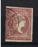 Stamps Europe - Spain -  Edifil  42  Reinado de Isabel II
