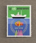Stamps ONU -  Ley del mar