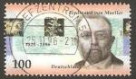 Stamps Germany -  ferdinand von mueller, botanico