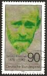 Sellos de Europa - Alemania -  janusz korcsak, escritor