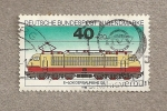 Stamps Germany -  Locomotora eléctrica