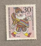 Stamps Germany -  Payaso, beneficiencia 1970