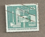 Stamps Germany -  Alexander Platz Berlín